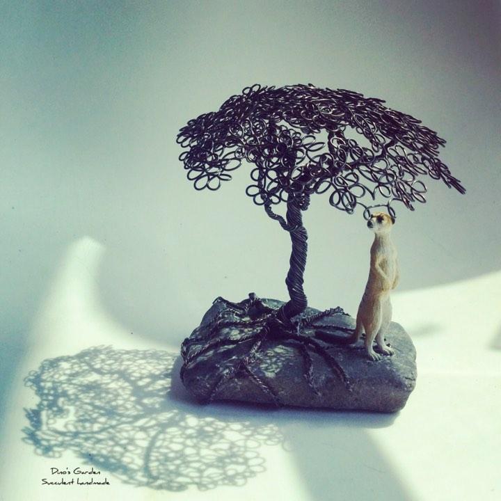 铝线艺树--手作课程