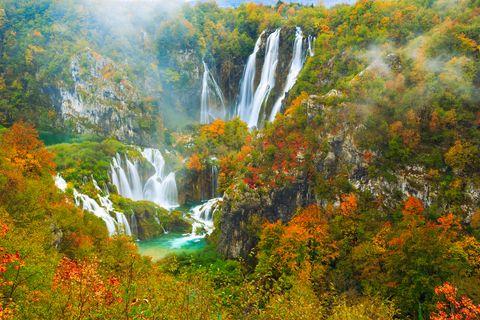【歐美】轉個彎遇到愛,克羅埃西亞十六湖+斯洛維尼亞+義大利山城秘境健走